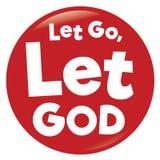 Let Go button Stock Photography
