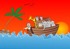 Noahs ark vector Stock Photos