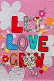 Let Love Grow Royalty Free Stock Images