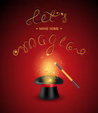 Let is make some magic Royalty Free Stock Image