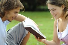 Let me read to you Royalty Free Stock Images