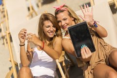 Let me take a selfie Royalty Free Stock Images