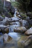 Let the mind flow like water. A waterfall in Alpine National Park Royalty Free Stock Photography