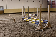 Let`s be winners. Sports ground for ride training Royalty Free Stock Photos