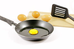 Let's cook a fried egg Royalty Free Stock Image