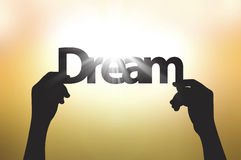 Let's dream and make it true Stock Photos