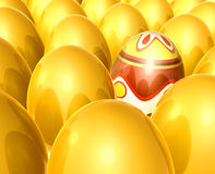 Let's find the easter egg Royalty Free Stock Photo