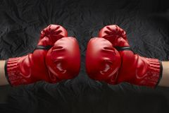 Let's get ready to rumble! Stock Image