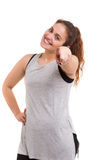 Let's get in shape! Royalty Free Stock Photo