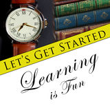 Learning is fun Royalty Free Stock Image