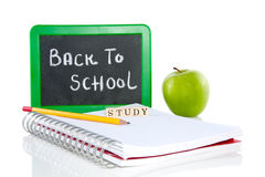 Let's go back to school Royalty Free Stock Photo