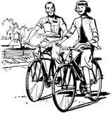 Let's Go Biking Stock Photo