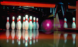 Let's Go Bowling stock photos