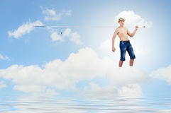 Let's go fishing Royalty Free Stock Images