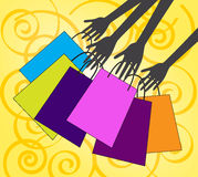 Let's go shopping Stock Images