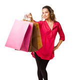 Let's go shopping. Royalty Free Stock Image
