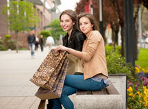 Let's go shopping! Royalty Free Stock Photography