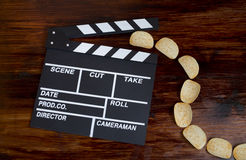 Let's go to the cinema right now! Royalty Free Stock Photography