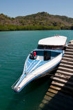 Let's go to the island. Speedboat is going to Lipe island in Thailand Stock Photography