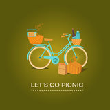 Let's go to picnic Stock Images