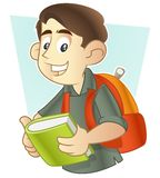 Let`s go to school vector illustration
