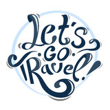 Let's go travel! Royalty Free Stock Image