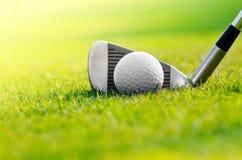 Let's golf stock photo