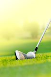 Let's golf Royalty Free Stock Photography