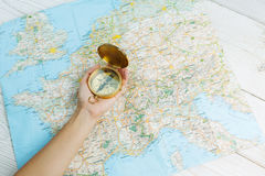 Let`s have a trip! royalty free stock images