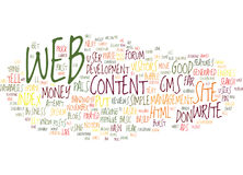Let S Hear It For Web Text Background Word Cloud Concept Stock Photos