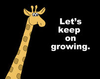 Let's keep on growing Stock Photo
