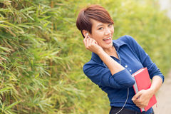 Let�s listen to the music Royalty Free Stock Photo