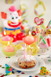 Let's party. Party accessories for New Year Eve, birthday party or carnival Royalty Free Stock Photos
