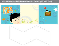 Let's Party Invite/brochure Stock Image