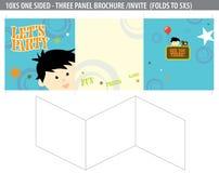 Let's Party Invite/brochure stock illustration