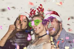 Let`s party on New Year`s Eve Royalty Free Stock Photography