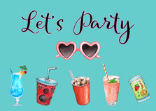 Let`s Party Summer Soiree Stock Images