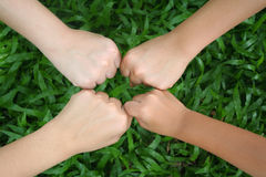 Let's play 2. Children's hands stock photography