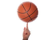 Let's play in basketball Royalty Free Stock Image