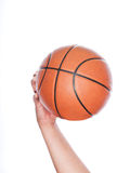Let's play in basketball Stock Image