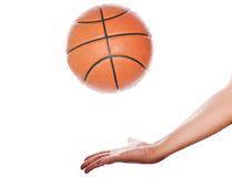 Let's play in basketball Royalty Free Stock Photo