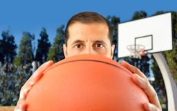 Let s play basketball Royalty Free Stock Images