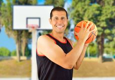 Let s play basketball Royalty Free Stock Photo