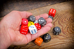Let's play - gamble Royalty Free Stock Image