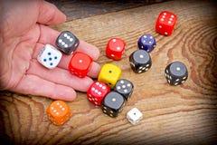 Let's play - gambling addiction Stock Photos