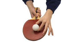 Let`s play ping-pong! Stock Images