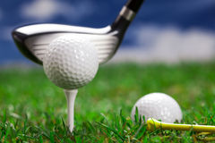 Let's play a round of golf! Royalty Free Stock Photos