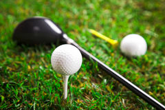 Let's play a round of golf!! Royalty Free Stock Image