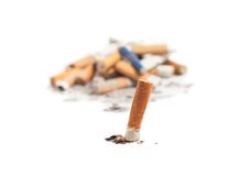 Let's quit smoking Stock Images