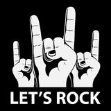 Let's rock Royalty Free Stock Photo
